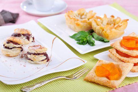 Z listového těsta můžete připravit skvělé sladké minidezerty