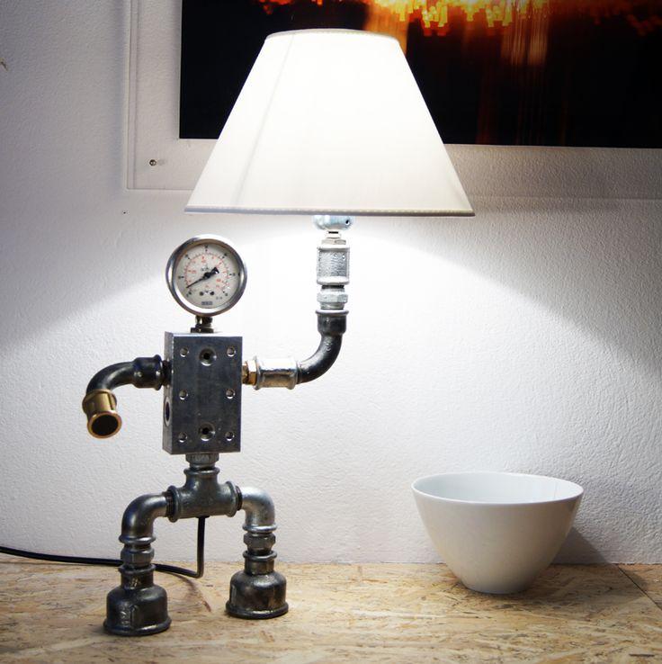 Φωτιστικό ρομπότ για δώρο Χριστουγέννων