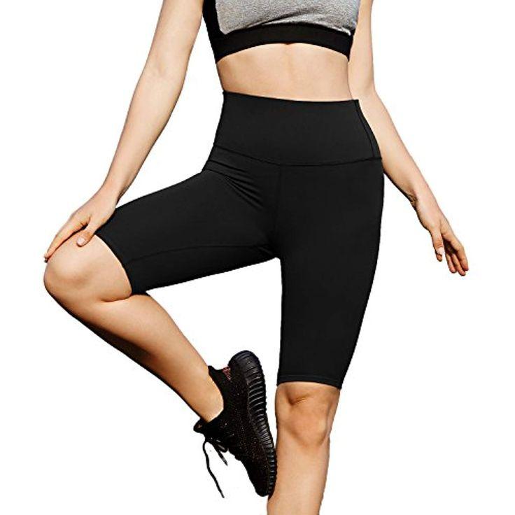 BALEAF Womens 8 /5 /2 High Waist Workout Biker Yoga