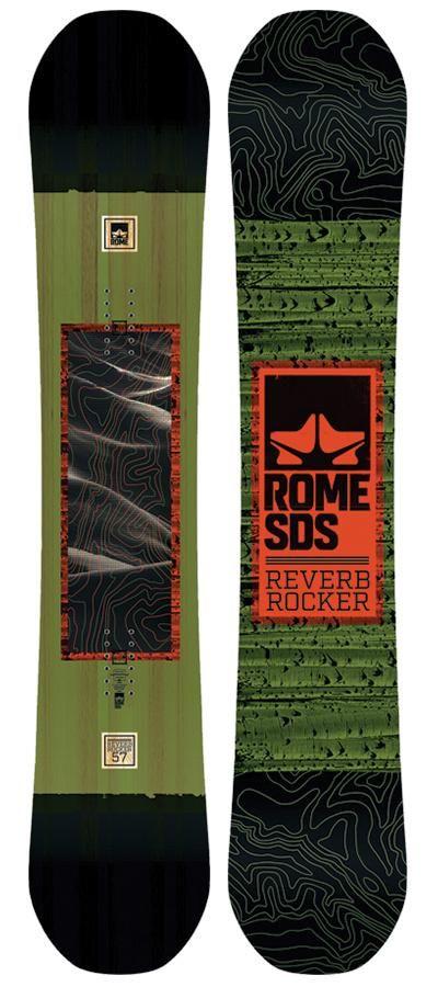 Rome Reverb Rocker Snowboard (2018)