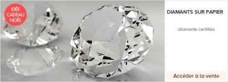 Diamant pas chers: Vente privee et soldes Diamants