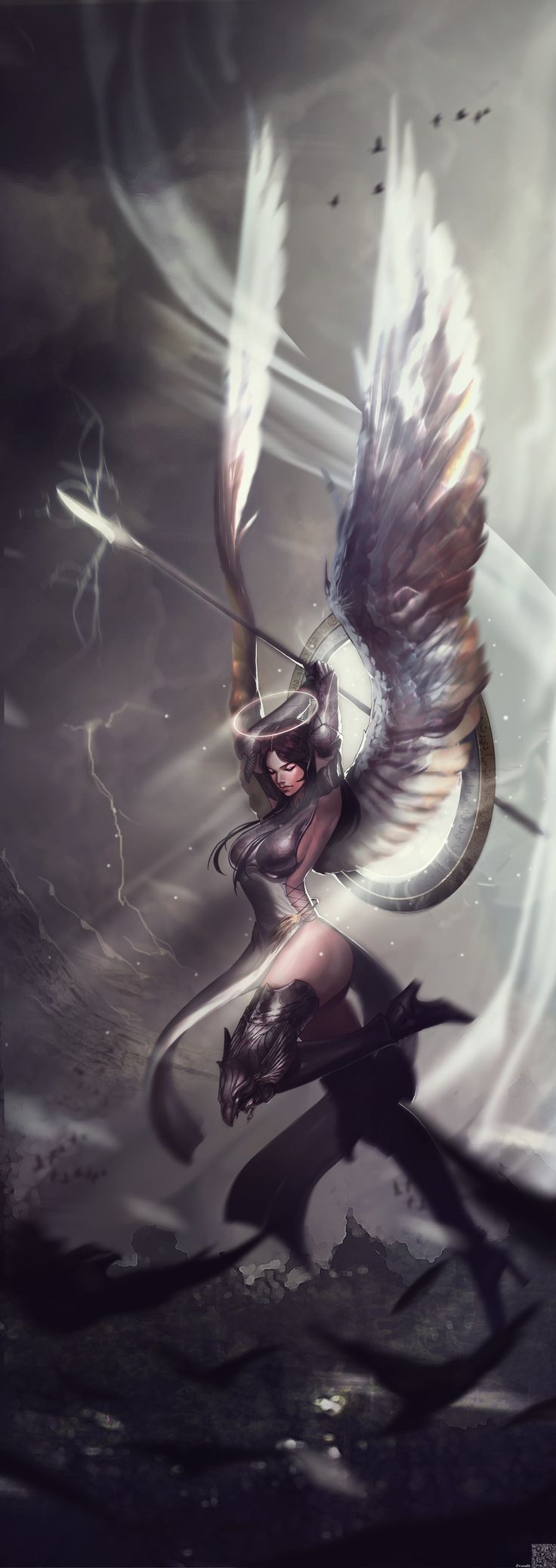 ArtStation - Angel, young yun kim