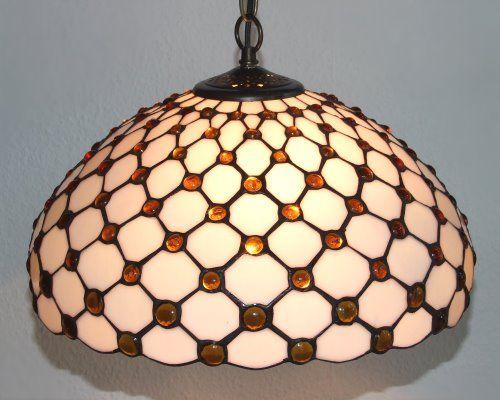 Deckenleuchte im Tiffany Stil D95, Tiffany-Leuchten