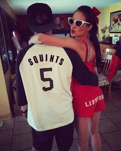 2016 Halloween with the boyfriend - Squints and Wendy Peffercorn Costume from The Sandlot :)