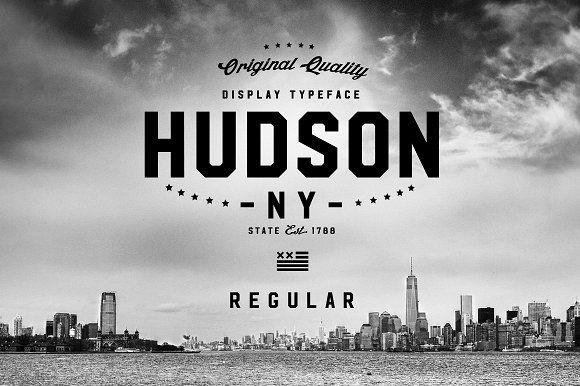 Hudson NY - Regular by Arkitype on @creativemarket