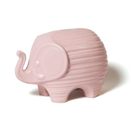Idk what it's for but it makes me very very happy: Tendr Rose, Piggy Bank, Kids Or, Kids For, Pink Elephant