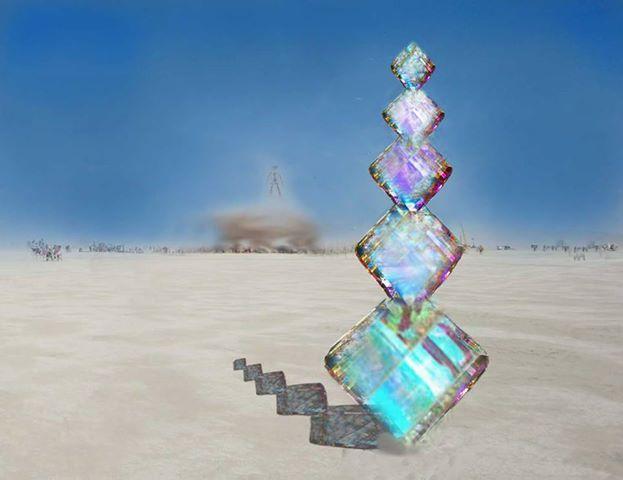 )'(  Burning Man  )'(