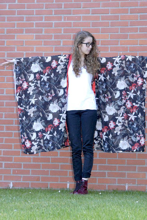 tuto kimono en mousseline 5