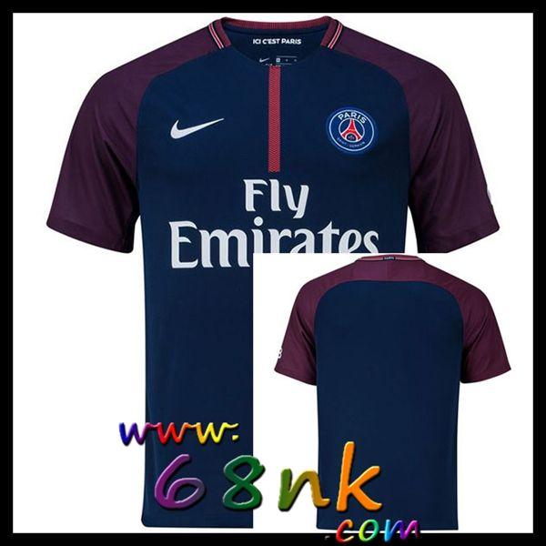 Maillot de foot Paris Saint Germain FC 2017/2018 Homme Domicile