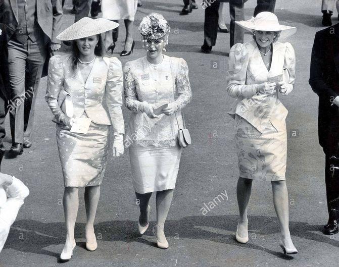 Royal ascot 1987 diana sarah diana the english rose for 32 princess of wales terrace