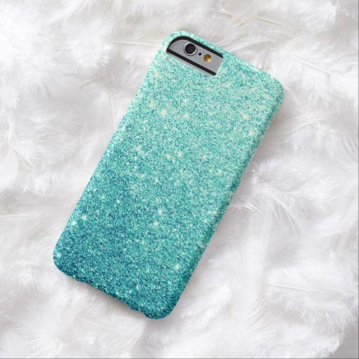Funda para celular color turquesa con brillantes by Allison_sky12 Precioso!!