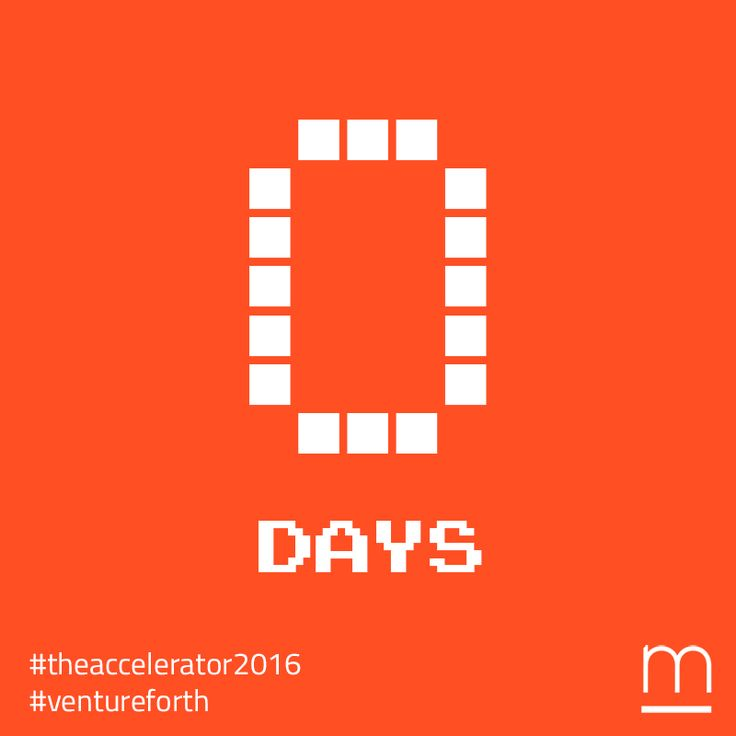 Founders, seize the day! Less than 24 hours left to join #TheAccelerator2016 – Submit your exhilarating #startup at: http://metavallon.org/the-accelerator/