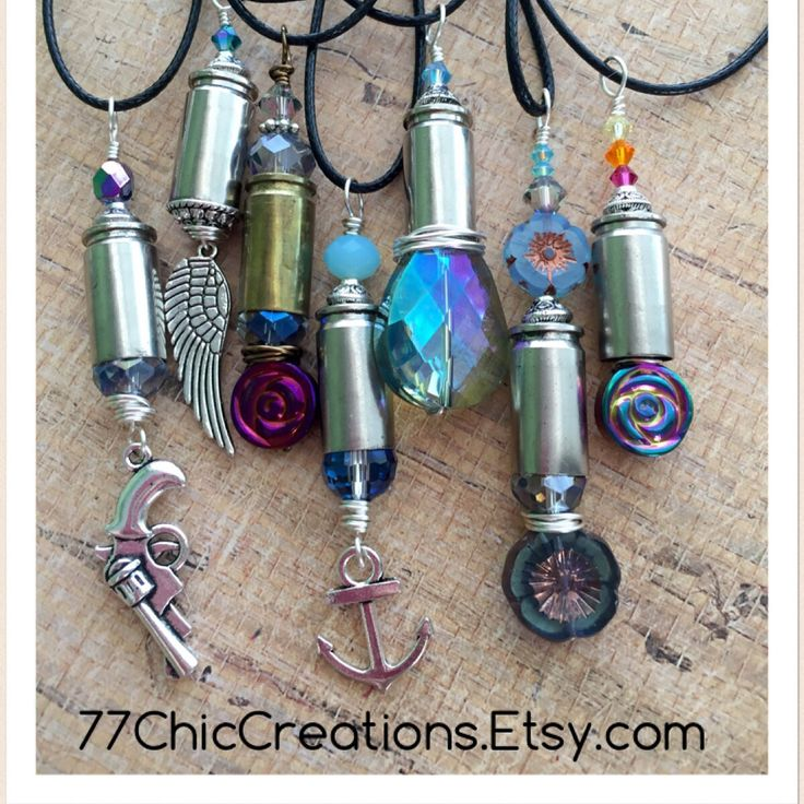 Bullet jewelry, necklace