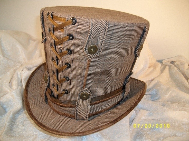 Menswear Top Hat Totally Steampunk. $145.00, via Etsy.Iphone Cases, Menswear Tops, Fashion Shoes, Steampunk Corset, Mad Hatters, Steam Punk, Steampunk Hats, Top Hats, Tops Hats