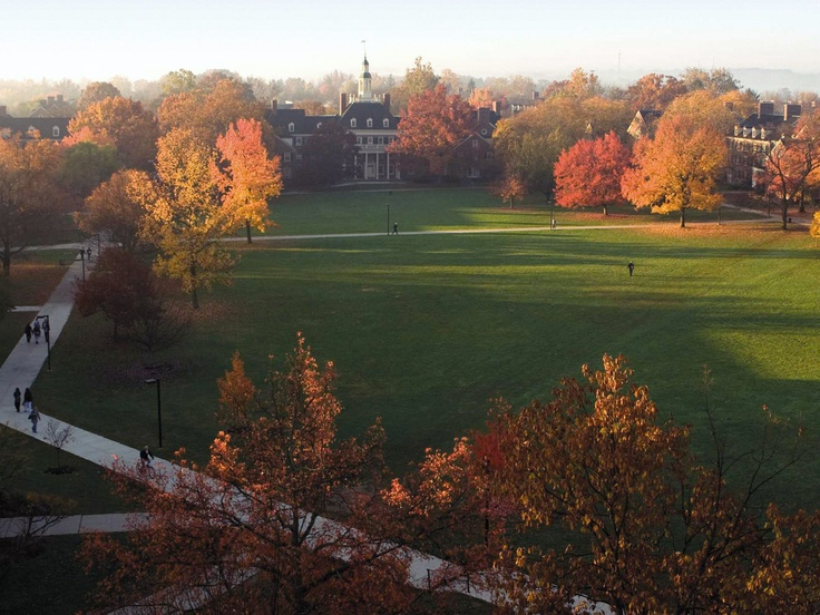 """Miami University Oxford, Ohio  -  Robert Frost once said that Miami University is """"the most beautiful campus that ever was."""""""