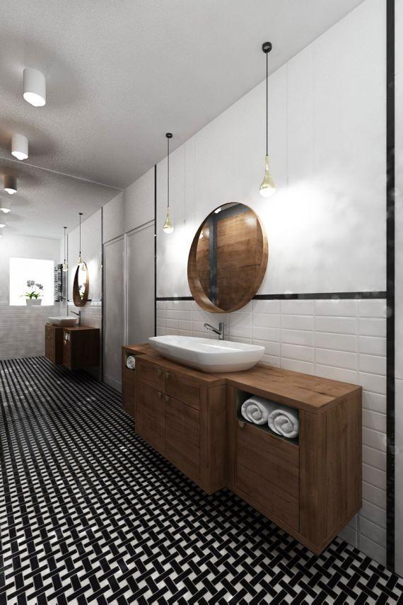 classic bathroom / www.spoiwostudio.pl