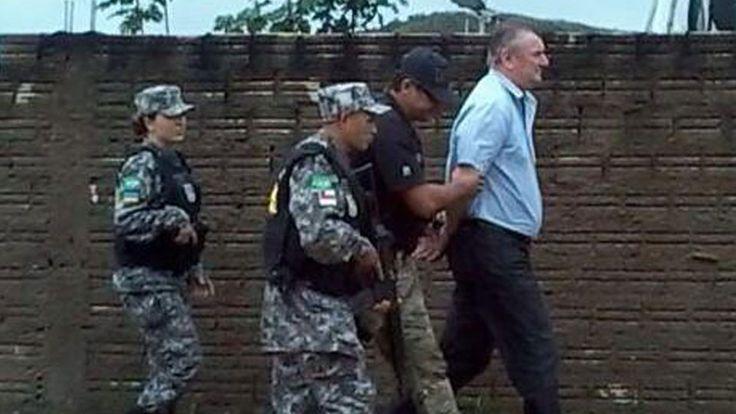 Ezequiel Antônio Castanha, o maior grileiro do Pará, foi preso pelo Ibama no último sábado (21), em ... - Foto: Divulgação Ibama