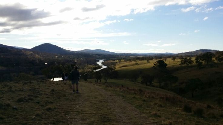 The Tharwa River from  Gigerline Trig