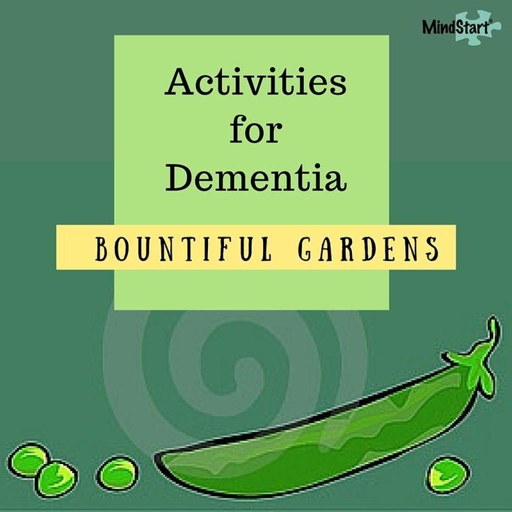 garden activities for dementia
