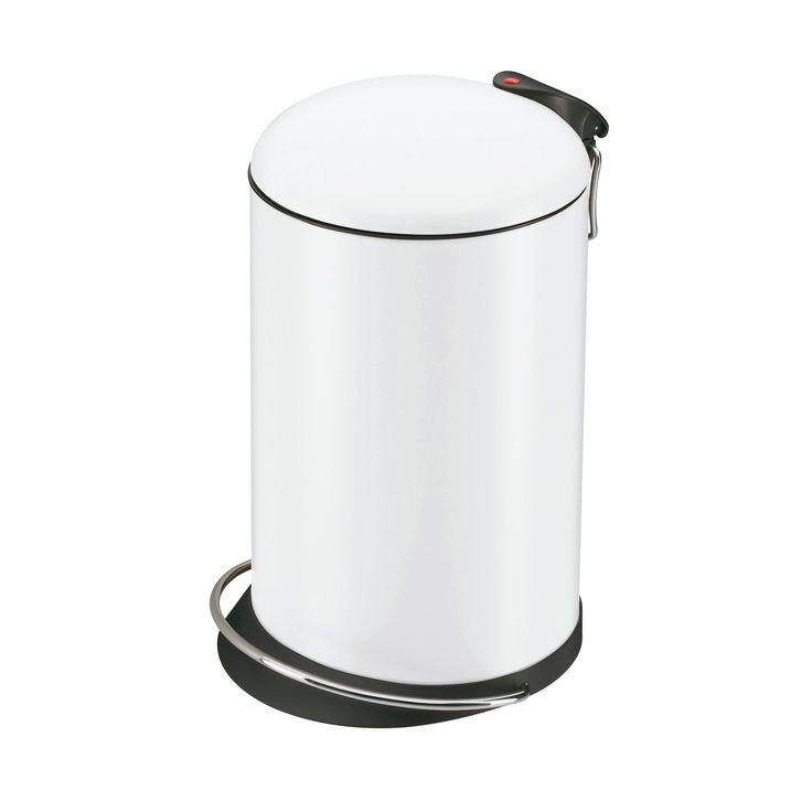 Hailo 0514-340 Design Tret-Abfallsammler TOPdesign 16, weiß: Amazon.de: Küche & Haushalt