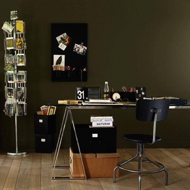Plateau bureau verre trempé Xénon, grande taille pour créer un bureau design et original