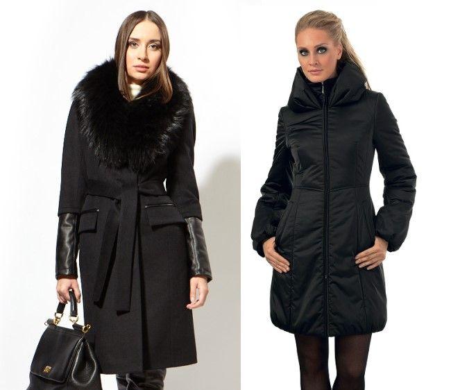Женские зимние пальто 2013-2014