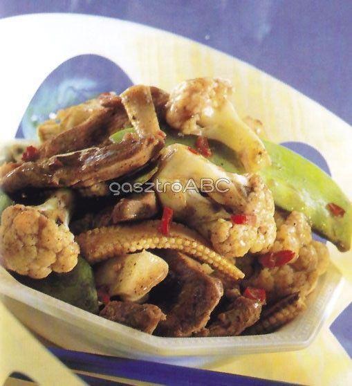 Kacsa fűszeres mártásban   Receptek