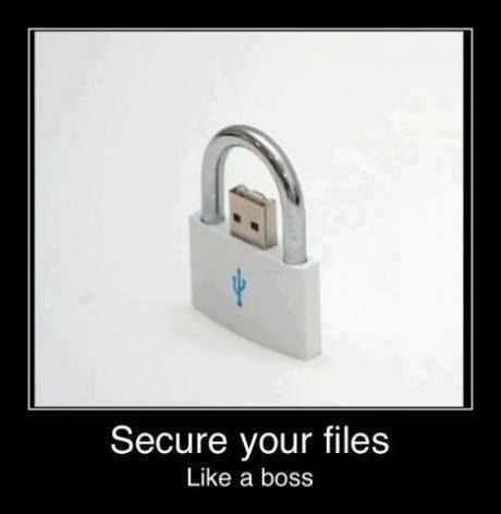 Secure your files like a boss. #Programming