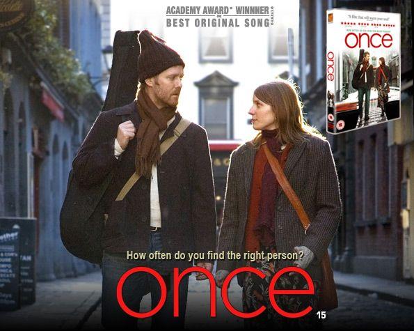 Once...beautiful movie, beautiful music.