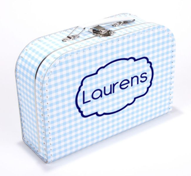 Koffertje label frame