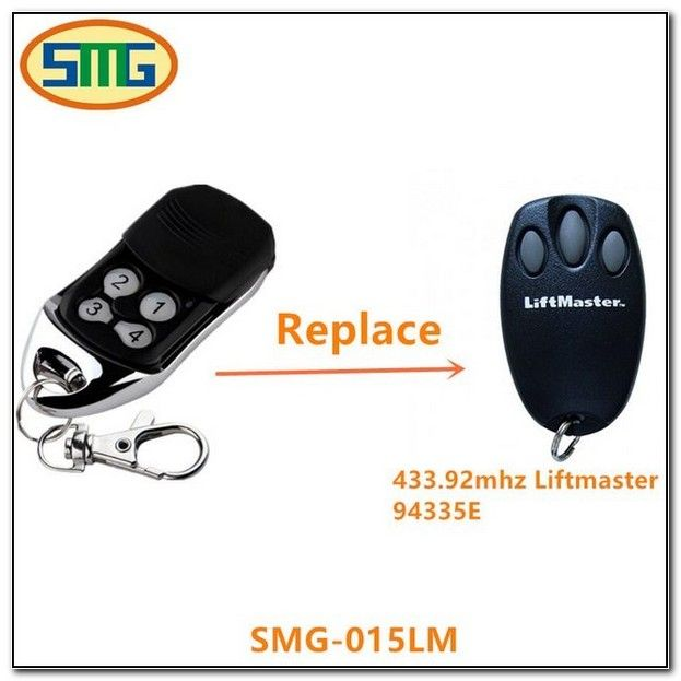 Universal Garage Door Remotes For Liftmaster Liftmaster Garage Doors Garage Door Remote Control
