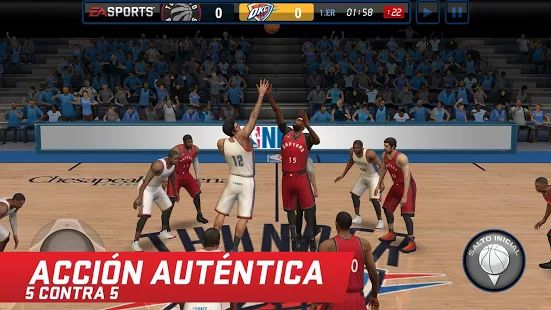 NBA LIVE Mobile: miniatura de captura de pantalla