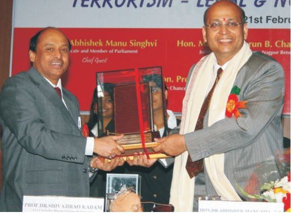 NATIONAL SEMINAR ON 'TERRORISM' - Hon'ble Dr. Abhishek Manu Singhvi (Member of Parliament, & Senior Advocate, Supreme Court of India) #MukundSarda #MukundSardaNews #MukundSardaWiki #MukundSardaPune