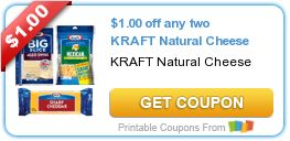 Rare New Kraft Cheese Coupons & Deal Scenarios! Be sure to print these rare new Kraft Cheese coupons! These never stick around for long so get them while they last! Here are some current Kraft Cheese deals you use these coupons with...