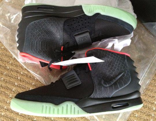 Nike Air Yeezy 2 Sneaker - Black Colorway