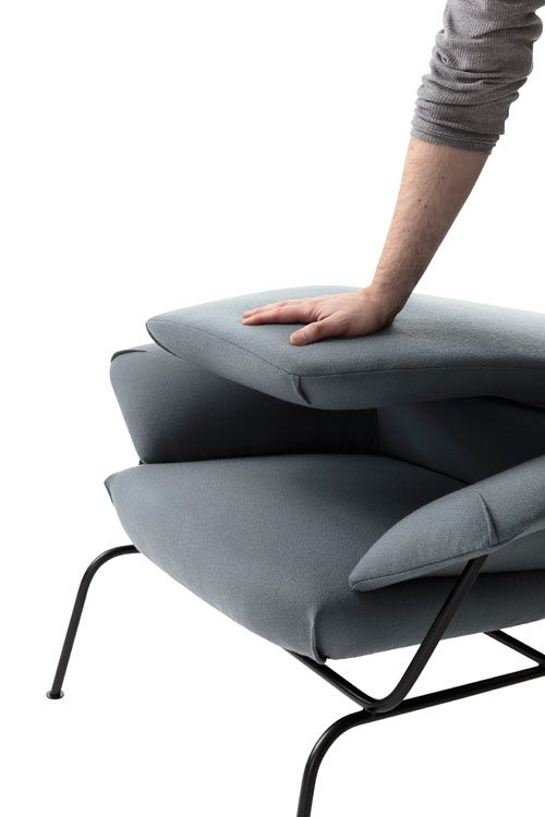 Hai Lounge Chair by Luca Nichetto for One Nordic Furniture Company Photo