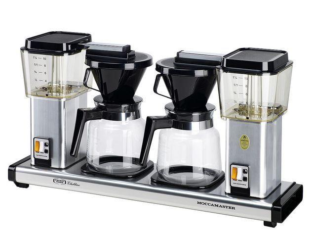 Afbeeldingsresultaat Voor Moccamaster Koffiezetter KBG741   Aluminium  Double · Espresso MakerCoffee ...
