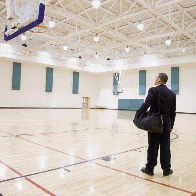A Gym Can Be Transformed Into A Wedding Reception Hall Marissas