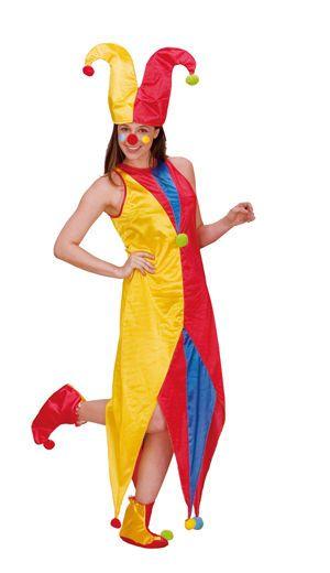 Damen Kostüm, Clown Lady Annabelle Kostüm Gr. M  Nr. 87352