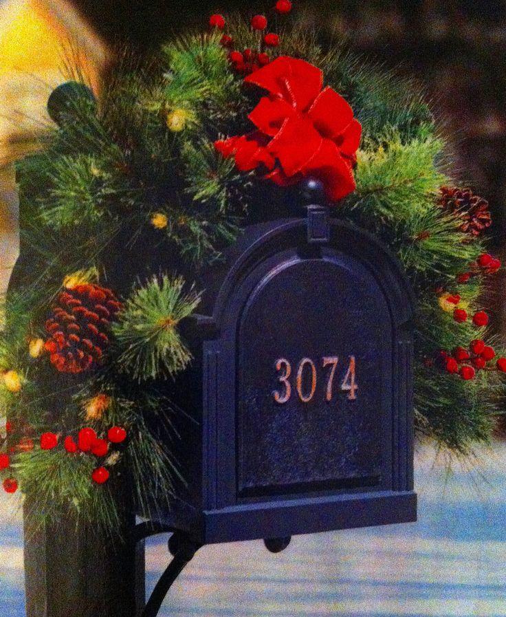 Christmas decor Mailbox