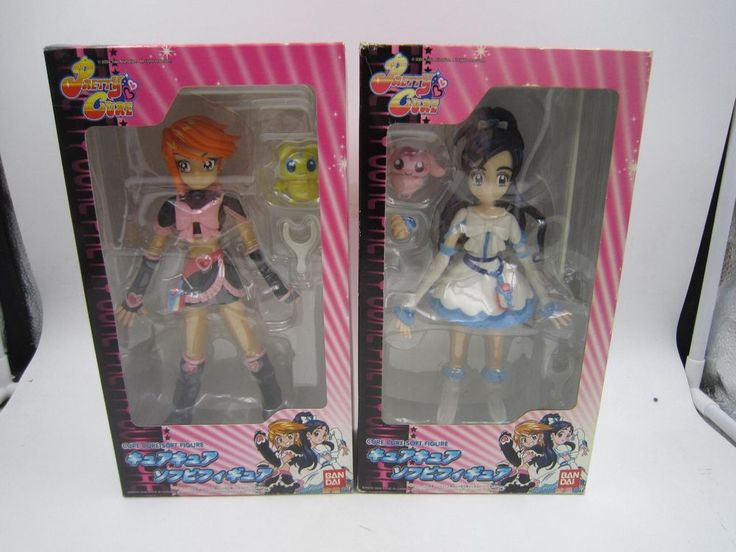 "Futari wa Pretty Cure. Box Never Opened. What you See is What you GET!!!! Manufacturer: Bandai H.K. (2006). Set of 2. NO Missing Parts!! We do not mark merchandise values below value or mark item as ""gifts"" - US and International government regulations prohibit such behavior. 