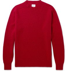 Albam are an amazing wardrobe essential shop - this red wool sweater is super festive.