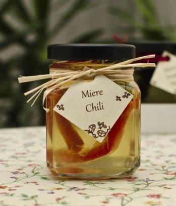 Acacia honey with chili