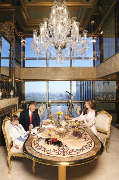 Donald J. Trump, Melania Trump