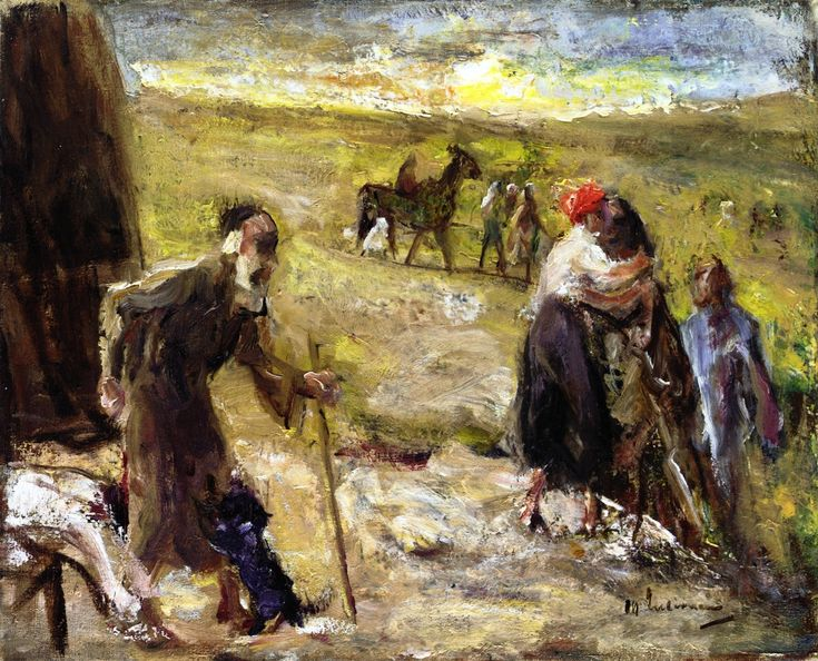 Max Liebermann - The Return of Young Tobias
