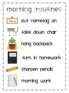 Mrs. Ricca's Kindergarten: Classroom Management