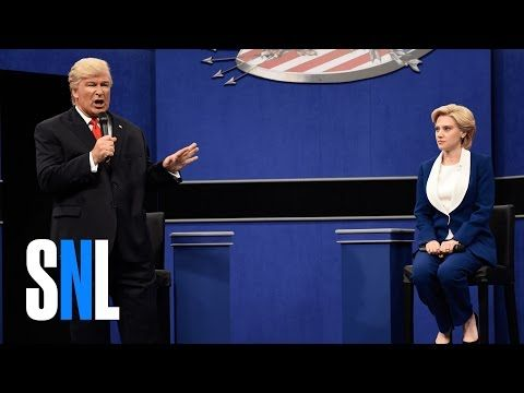 Alec Baldwin Nails It With Another Creepy Donald Trump Debate Impression On 'SNL' | The Huffington Post