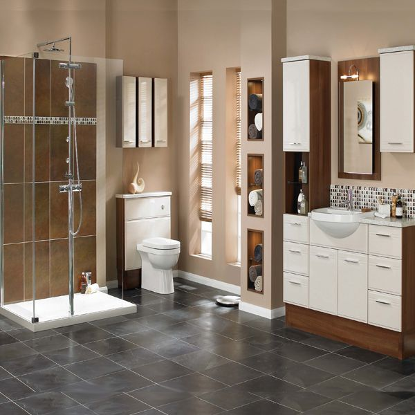 17 best images about our favourite things on pinterest for Small fitted bathroom ideas