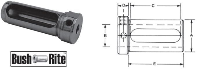 Bush-Rite lathe bushings. For all types of N/C-CNC turning centers, turret lathes and chuckers. Inventory in Stock - Fast Online Checkout - Same Day Shipping.