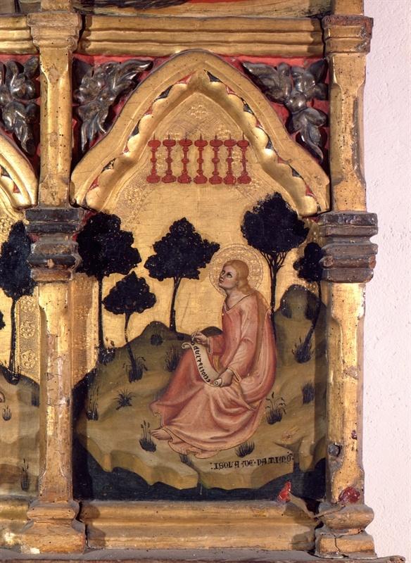 Cornice ad intaglio e doratura: sec. XVI - Fermo - Marche, Italy